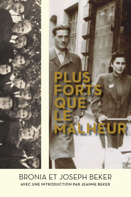 Book Cover of Plus forts que le malheur