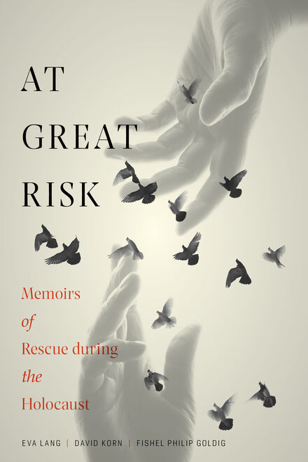 Book Cover of At Great Risk: Memoirs of Rescue during the Holocaust