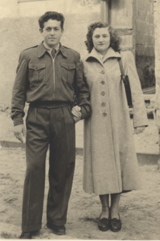 Rose and Jakob. Israel, 1950.